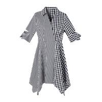 MOFAN ML22310596 女士格纹连衣裙