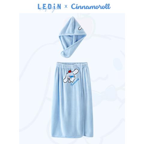 LEDIN 乐町×大耳狗联名款 女士谷裙浴帽套装 CLBKB2118