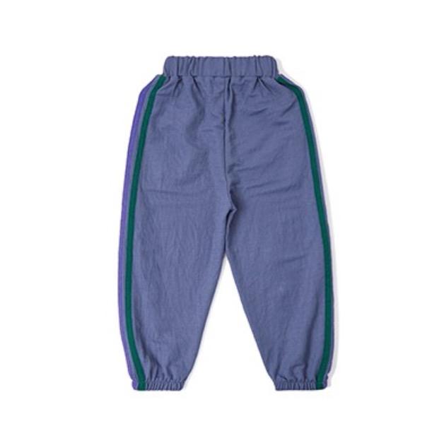 左西 XK202102 男童休闲裤 蓝色 130cm