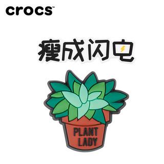 Crocs卡骆驰智必星 多肉植物 瘦成闪电试用组合