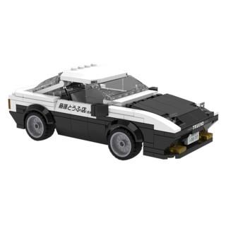 CaDA 咔搭 AE86 丰田积木赛车 280颗粒
