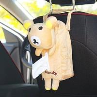卡萨雷兹 快乐熊车载纸巾盒