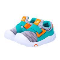 gb 好孩子 17SSLT013 儿童学步鞋 灰绿色 22码(内长140)