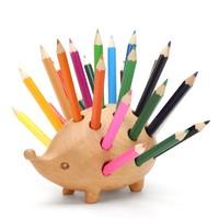 初心 82020 木质动物造型 刺猬笔插