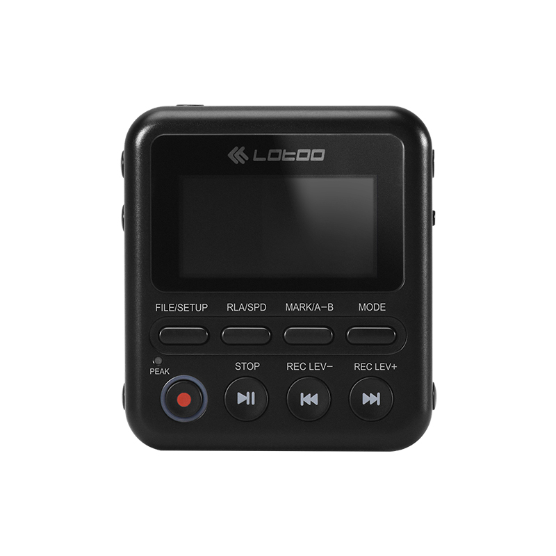 lotoo 乐图 PAW-1 便携式录音机 黑色