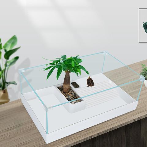 YEE意牌 组合式超白玻璃龟缸