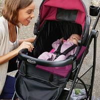 Graco 葛莱 婴儿提篮+轻便宝宝推车套装