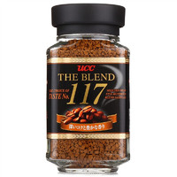 UCC 悠诗诗 117黑咖啡 速溶咖啡 90g/瓶