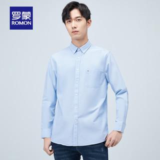 ROMON 罗蒙 男士纯棉休闲衬衫