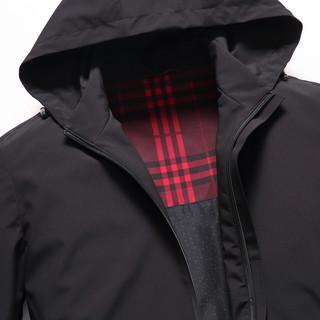 ROMON 罗蒙  S6J016850 男士短款夹克连帽外套
