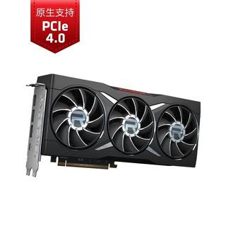 AMD RADEON RX 6800 XT黑色限定版台式机显卡 7nm AMD RDNA2架构 16GB GDDR6游戏吃鸡电竞显卡