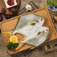 PLUS会员 : 翔泰 海南金鲳鱼 700g(2条)