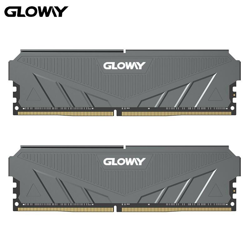 GLOWAY 光威 天策系列-摩登灰 DDR4 3000 台式机内存 16GB(8GB*2)