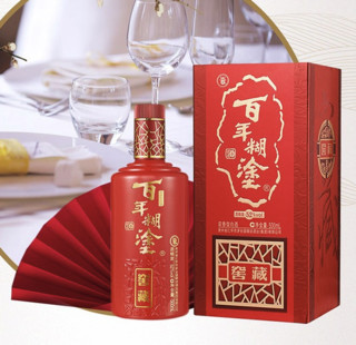 百年糊涂 窖藏 52%vol 浓香型白酒