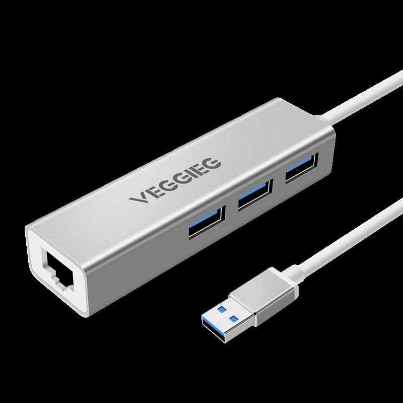 VEGGIEG 唯格 USB转换器 普通白色款