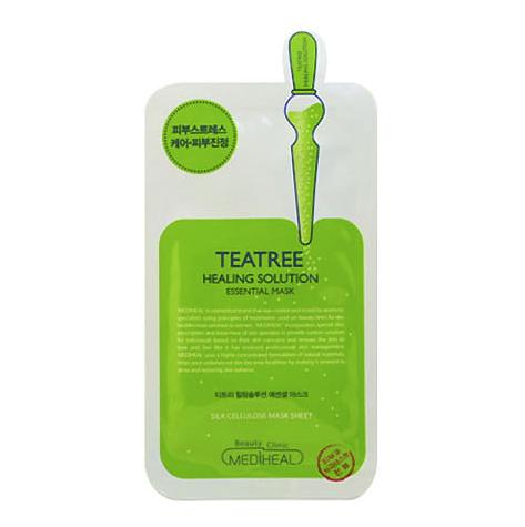 MEDIHEAL 美迪惠尔 韩国进口 美迪惠尔(Mediheal)可莱丝茶树面膜10片/盒(升级版)补水保湿 控油祛痘 舒缓镇定