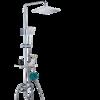 Cobbe 卡贝 98306-4 方形淋浴花洒套装 精铜喷枪