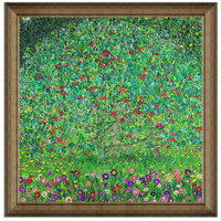 雅昌 克里姆特《蘋果樹》 44×44cm 裝飾畫 油畫布