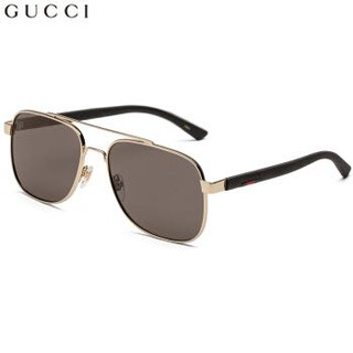 GUCCI 古驰 GUCCI GG0422S 男士太阳墨镜