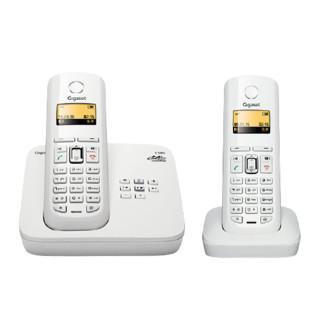 Gigaset 集怡嘉 C585 电话机 白色 套装