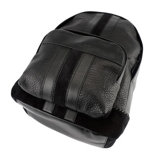 COACH 蔻驰 男士皮革双肩包 F49334 QB/BK 黑色 大号