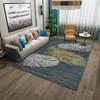 布迪思 客厅地毯ins风北欧卧室沙发简约床边毯满铺房间轻奢茶几定制 新款10 140*200CM【小型客厅】
