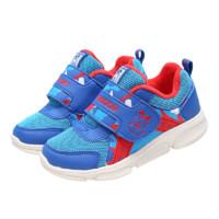 BoBDoG 巴布豆 106375021 儿童休闲运动鞋 皇家蓝/红 22码(内长13.8cm)