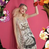 elf sack 妖精的口袋  爱丽丝合作系列 AL0042 女款连衣裙