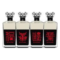 武陵 琥珀 牛年祝福套装 53%vol 酱香型白酒 509ml*4瓶 组合装