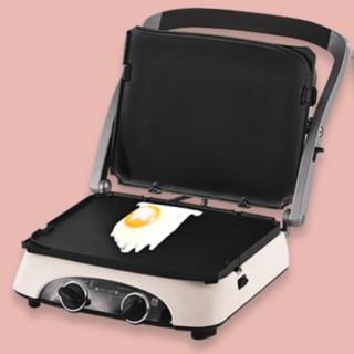 silencare 无言 SC-K308 电热烧烤炉 珍珠白