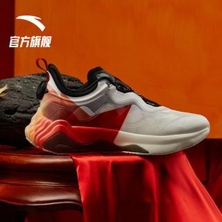 安踏星标系列星峦跑步鞋2021新款夏季轻便减震休闲鞋子男士运动鞋