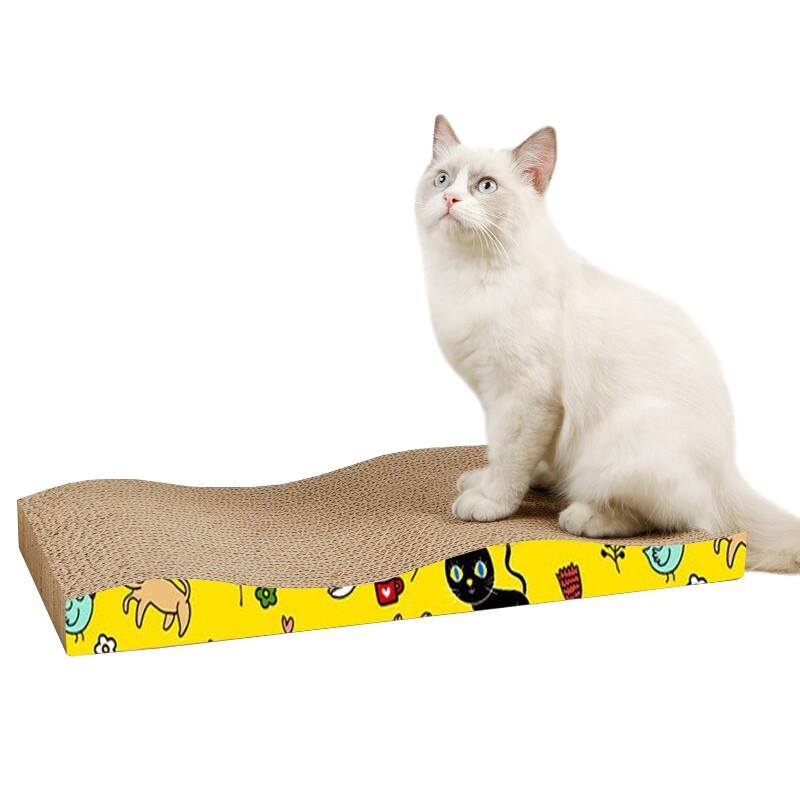 Mr.Dixiong 迪熊先生 波浪形猫抓板