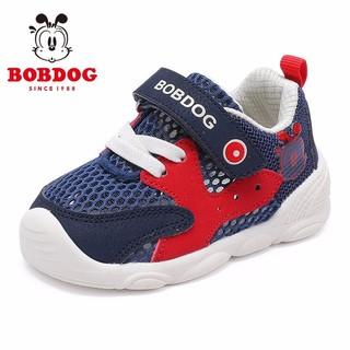 BoBDoG 巴布豆 婴儿软底学步鞋