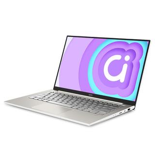 ASUS 华硕 adolbook14s 14英寸笔记本电脑 (i5-1135G7、16GB、512GB SSD、 MX 350)
