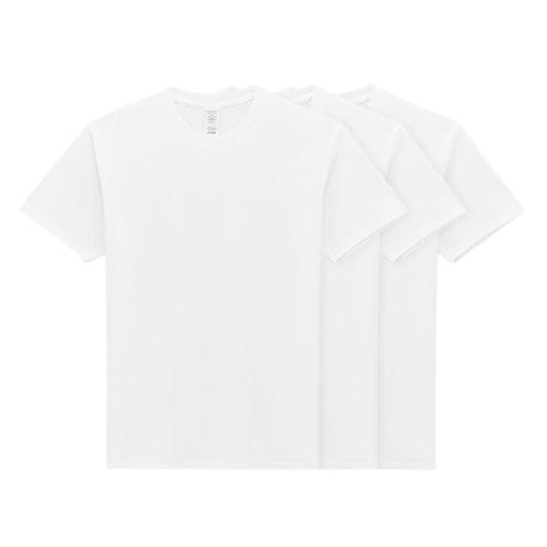 VANCL 凡客诚品 男士圆领短袖T恤套装 15845179 白色*3件 L