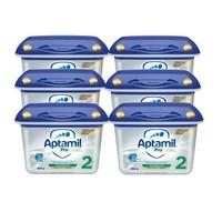 Aptamil Profutura 德国版 爱他美 白金版婴儿配方奶粉 2段 800g*6