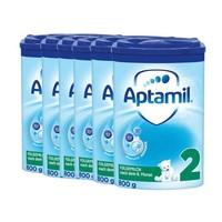 Aptamil 爱他美 婴幼儿配方奶粉 2段 (6个月以上) 800g*6
