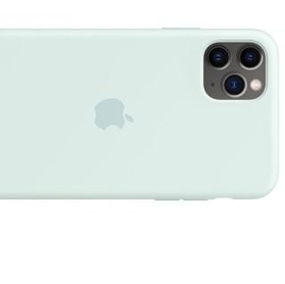 Apple 苹果 iPhone 11 Pro Max 硅胶保护壳 浪花绿色
