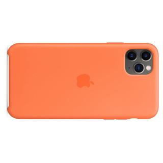 Apple 苹果 iPhone 11 Pro Max 硅胶保护壳 鲜橙色