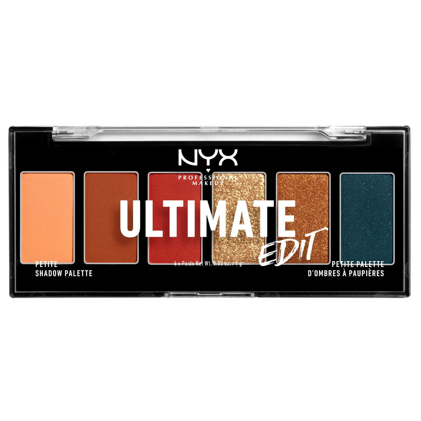 NYX Ultimate 6色眼影盘