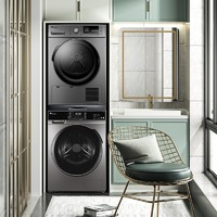 LittleSwan 小天鹅  TG100V65WADG-Y1T+TH90-H02WY 洗烘套装