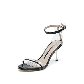 STACCATO 思加图 SZP9VN35DU1BL9 女士一字带凉鞋