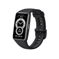 HUAWEI 华为手环6 智能手环 NFC版 曜石黑(血氧)