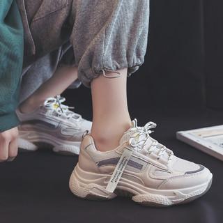 回力女鞋老爹鞋女2021新款厚底增高休闲鞋女百搭潮鞋女运动鞋女