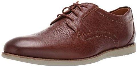 Clarks Raharto Plain 男士商务皮鞋