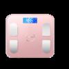 AUX 奥克斯 AU-F003 电子秤 浪漫粉 电池板