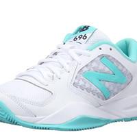new balance WC696 女款網球鞋 Teal/White 5