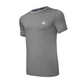 男士速干T恤新款透气舒适修身圆领吸汗短袖品牌运动上衣