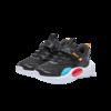 XTEP 特步 680316119703 儿童休闲运动鞋 黑红 28码