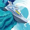 安踏 ANTA 官方旗舰水花2代篮球鞋透气汤普森KT战靴男鞋运动鞋 安踏白/氯蓝-1 8.5(男42)